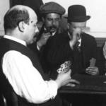 Joueurs de cartes dans un café, 1911