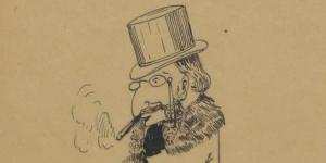 Louis Lemercier de Neuville, Portrait d'Offenbach