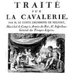 Drummond de Melfort, Traité sur la cavalerie, 1776