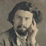 Portrait d'homme, daguerréotype, entre 1842 et 1855