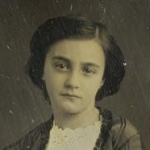 Portrait de jeune fille, daguerréotype, entre 1842 et 1855