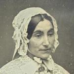 Derussy, Portrait de femme, daguerréotype, vers  1845-1851