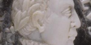 Charles IX, camée, 17e siècle