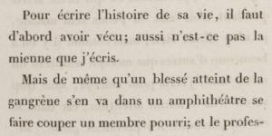 Musset, La Confession d'un enfant du siècle, 1836