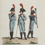 Le costume militaire dans Gallica