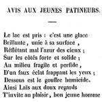 Charles Rey, Poésies diverses, 1852