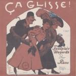 Claveaud-Vérinas, Ça glisse !, partition pour piano, 1907