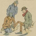 Un début !, Épinal, Imagerie Pellerin, 1891