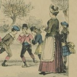 Les Plaisirs de l'hiver, Épinal, Pellerin &Cie, 1891
