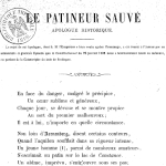 Lavocat, Le Patineur sauvé, 1862