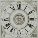 Cadran d'horloge, 1811