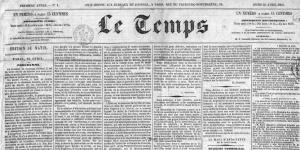 Le Temps, 1861