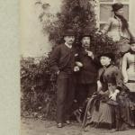 Vie et réunion d'une famille vers 1878