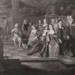 Scène de Carnaval au château de Condé sur Escaut,