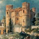Vue du château Gaillon, 19e siècle