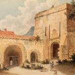Tavernier de Jonquières , Première cour d'entrée du château fort de Guise, 18e siècle