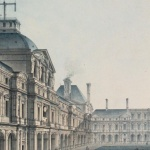 Norry, Vue intérieure du Louvre...,1799