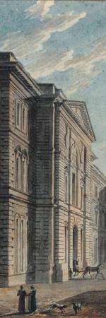 Baltard, Côté nord du Louvre, 19e siècle