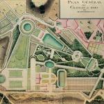 Plan Général du Château et Parc de Montmorency, 18e siècle