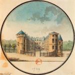Durand, Château de Rambouillet, 1789