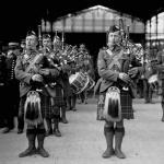 Musique écossaise à Paris , 1916