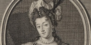 Portrait de Madeleine de Scudéry