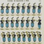 Fanfare de chasseurs à pied, 1862