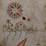 Placido Caloiro e Oliva,Carte de la Mer Méditerranée, 1631