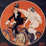 Mich, Sur la route du bonheur !... La Cyclette...,1909