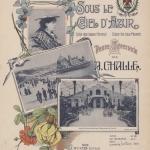 Challe, Sous le ciel d'azur : petite sérénade : piano, 1905