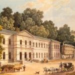 Bagnères-de-Bigorre. Vue des Thermes Marie-Thérèse, 19e siècle