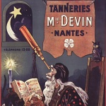 Tanneries Mie Devin, Nantes, 1911