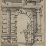 Meyer Daniel,  L'Architecture, ou Démonstration de toute sorte d'ornemens, ès portes, fenestres, planchés, etc...,1664