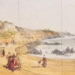 J.D., La baie de Cancale, 1847