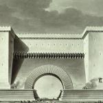 Boullée Etienne-Louis, Portes de ville de guerre,1781-1793