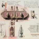 Lequeu Jean Jacques,  Dessin de la ferrure des portes des appartemens de l'hôtel de Montholon,1786