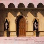 Lequeu Jean Jacques, La salle à manger de la maison gothique et le salon de la maison chinoise,1777-1814
