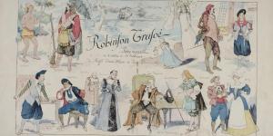 Robinson Crusoé, pièce d'Ernest Blum, Pierre Decourcelle, 1899