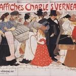 "Théophile Alexandre  Steinlen,Affiches Charles Verneau. ""La Rue "", 1896"