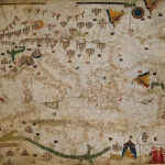 Piero Roselli,Carte marine de la mer Méditerranée et de la mer Noire, 15e siècle