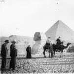 Egypte : les pyramides et le Sphinx, 1932