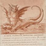 Jean Marie Mixelle,Harpie femelle, monstre amphibie..., 1784