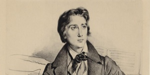 Achille Devéria, Franz Liszt, 1832