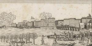 Événements de Lyon. Combat du Pont Morand, 19e siècle
