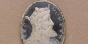 Camée : Buste de Clovis de profil, 16e siècle