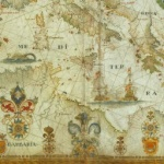 François Ollive,Carte particulière de la Mer Méditerranée, 1662