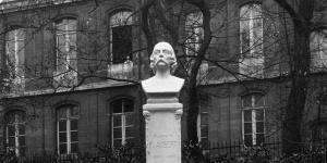 Inauguration du monument de Flaubert au Luxembourg, 1921