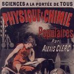Jules Chéret, Physique et chimie populaires par Alexis Clerc, 1883