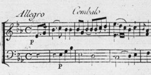 Concerto pour clavecin de Johann Christian Bach