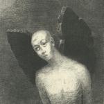Odilon Redon, L'ange perdu ouvrit alors des AILES NOIRES